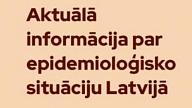 SPKC: Atkal vērojams saslimstības pieaugums ar Covid-19