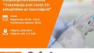 """Jelgavā notiks konference ģimenes ārstiem un ārstu palīgiem  """"Vakcinācija pret Covid-19: aktualitātes un izaicinājumi"""""""