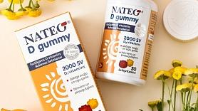 NATEO D Gummy D vitamīns – garšīgi želejvitamīni bērniem