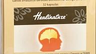 Brain Booster - galvas smadzeņu darbības aktivātors ar Ginkgo un GABA