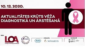 """Latvijas Onkologu asociācija rīko atvērto sēdi """"Aktualitātes krūts vēža diagnostikā un ārstēšanā"""""""