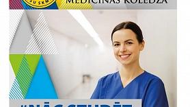 No 1. jūlija–klātienes uzņemšana RSU Sarkanā Krusta medicīnas koledžā