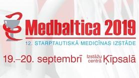 """Rīgā norisināsies starptautiskā medicīniskā izstāde """"Medbaltica 2019"""""""