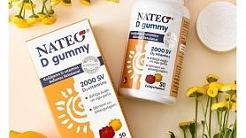 Testa rezultāti: NATEO D Gummy D vitamīns – garšīgi želejvitamīni bērniem