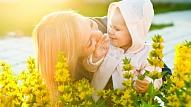 Eksperte: No mammas ir atkarīgs, vai bērns būs alerģisks