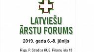 No 6. līdz 8. jūnijam notiks Latviešu ārstu forums