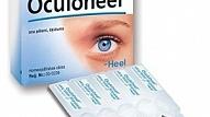 Testa rezultāti: Acu pilieni Oculoheel – homeopātiskais kompleksais preparāts