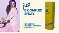 NEO just B COMPLEX SPRAY– nervu sistēmai, noguruma mazināšanai un ādas veselībai