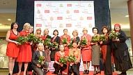 Akciju Go Red for Women atbalsta 25 sabiedrībā pazīstamas un mīlētas dāmas