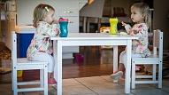 Ārste: Mācoties ēst patstāvīgi, bērns apgūst vairākas attīstībai svarīgas iemaņas
