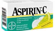 Aspirin C, 400 mg /240 mg putojošās tabletes