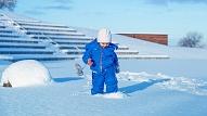 Bērna ādai ziemā nepieciešamas papildu rūpes