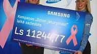 """Labdarības kampaņa """"Dzīvei jāturpinās!"""" ir noslēgusies. Krūts vēža pacientu rehabilitācijai saziedoti 11 244.77 lati"""