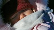 Mazuļa pārkaršana - viens no zīdaiņa pēkšņās nāves riskiem