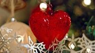 Mīli savu sirdi Ziemassvētkos!