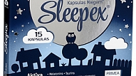 """Sleepex"" – kapsulas miegam"