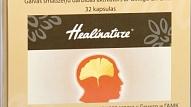 Testa rezultāti: Brain Booster - galvas smadzeņu darbības aktivātors ar Ginkgo un GABA