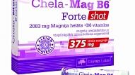 Testa rezultāti: Chela-Mag B6® Forte Shot - magnijs un B vitamīns