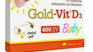 Testa rezultāti: Gold-Vit® D3 Baby - D3 vitamīns zīdaiņiem un bērniem