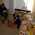 Mūzikas terapija, mūzikas terapeits, mākslas terapija, audiologopēds
