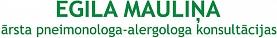 Mauliņa E. ārsta pneimonologa-alergologa konsultācijas